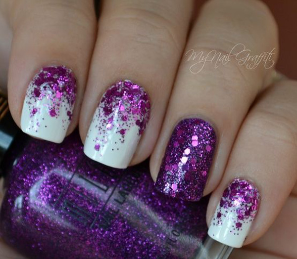 Purple Nail Art-45
