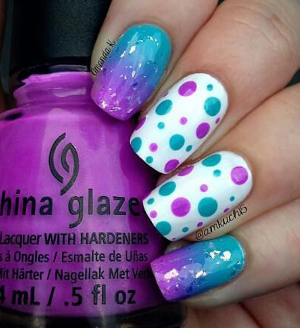 Purple Nail Art-46