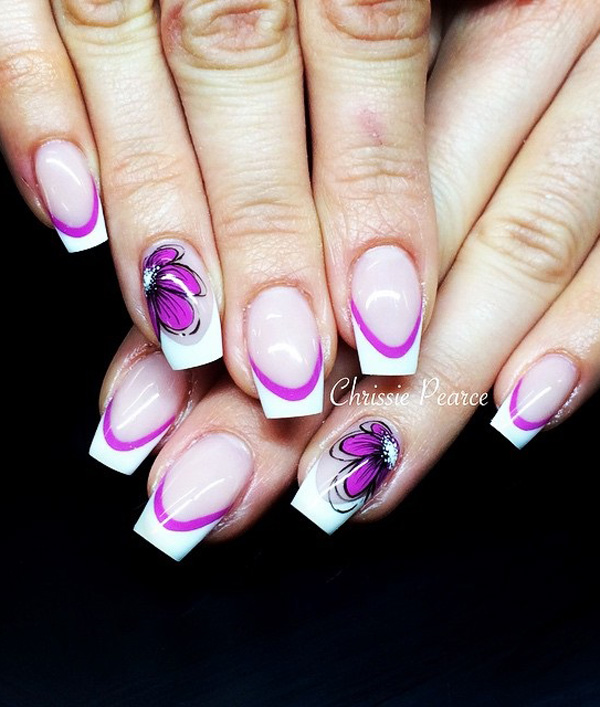 Purple Nail Art-8