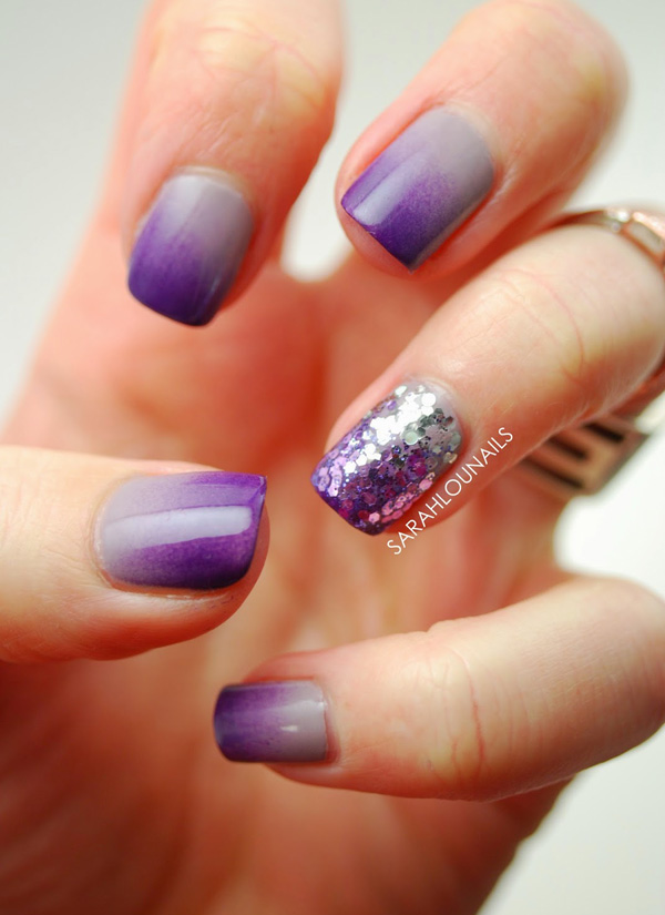 Purple Nail Art-9