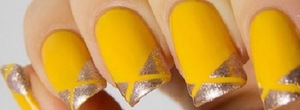 Yellow Nail Art 18  222