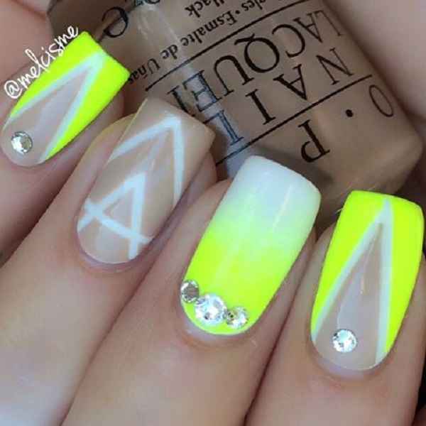yellow nail art-21