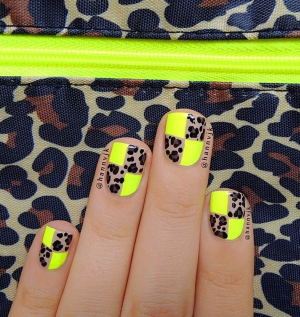 yellow nail art-40