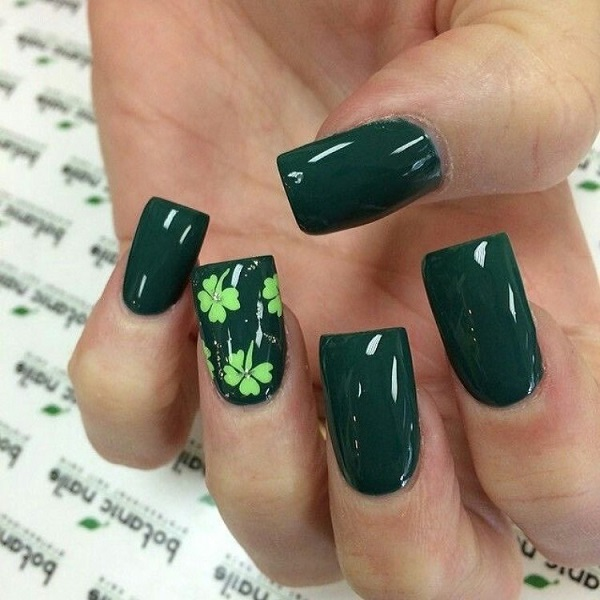 30 Four Leaf Clover Nail Art Ideas Nenuno Creative