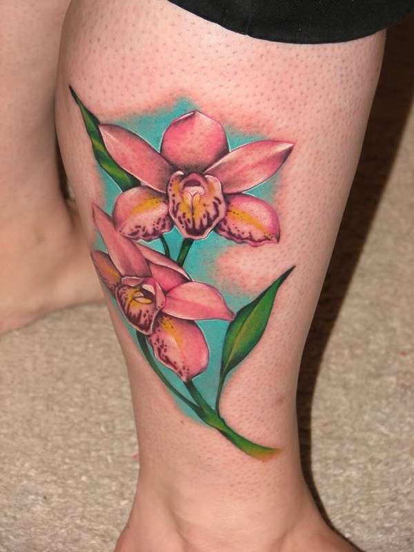 Orchid Tattoo 10