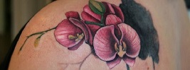 50+ Orchid Tattoo Ideas