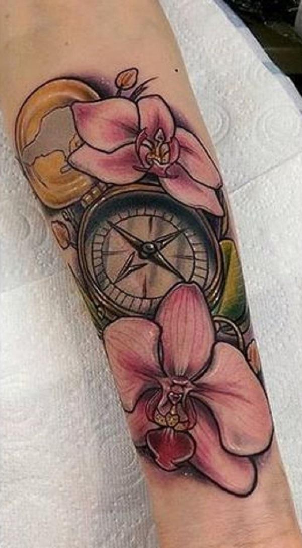 Orchid Tattoo 14