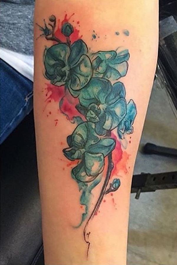 Orchid Tattoo 17