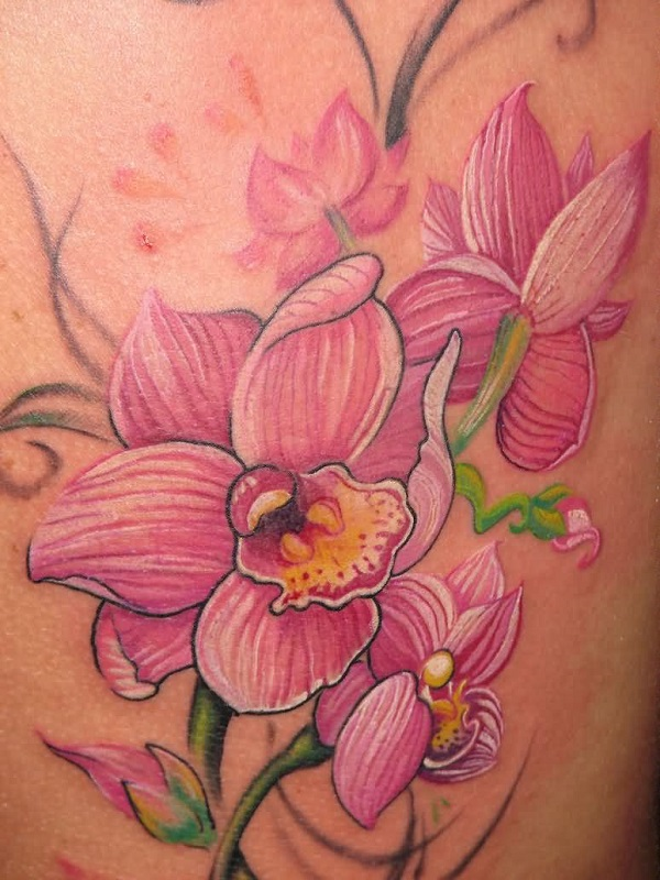 Orchid Tattoo 27
