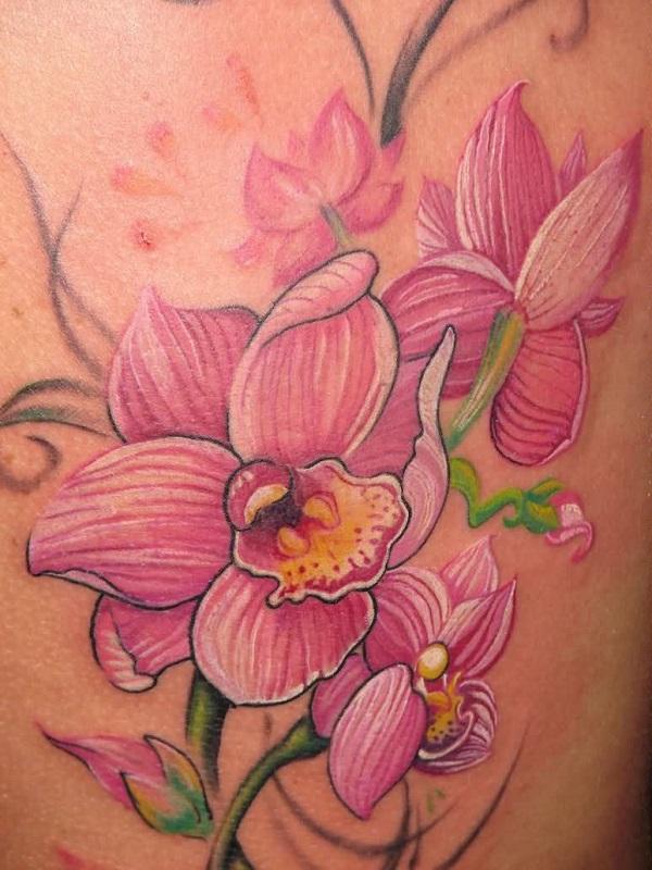 Orchid Tattoo 27