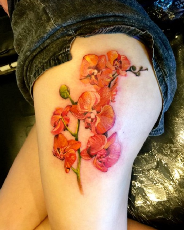 Orchid Tattoo 30