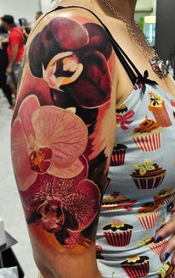 Orchid Tattoo 32