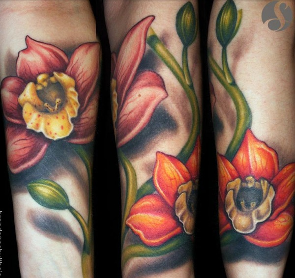 Orchid Tattoo 39