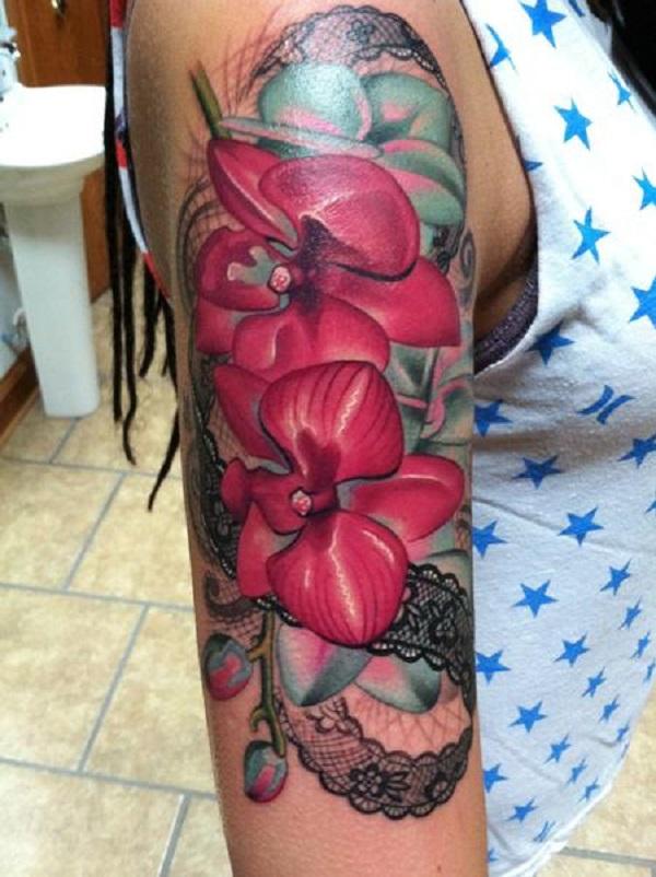 Orchid Tattoo 40