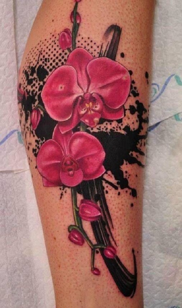 Orchid Tattoo 5