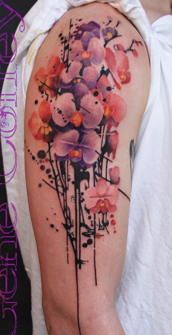 Orchid Tattoo 6