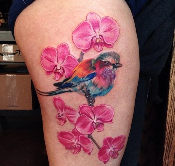 Orchid Tattoo 8