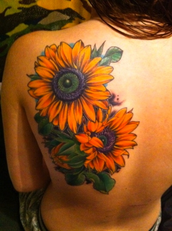 Sunflower by Courtney Swatsenbarg
