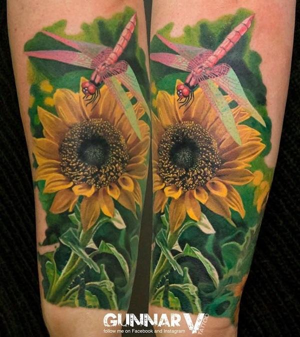 Sunflower by Gunnar V