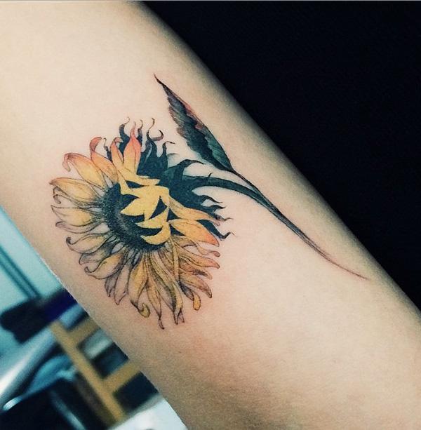 sunflower-tattoo-58