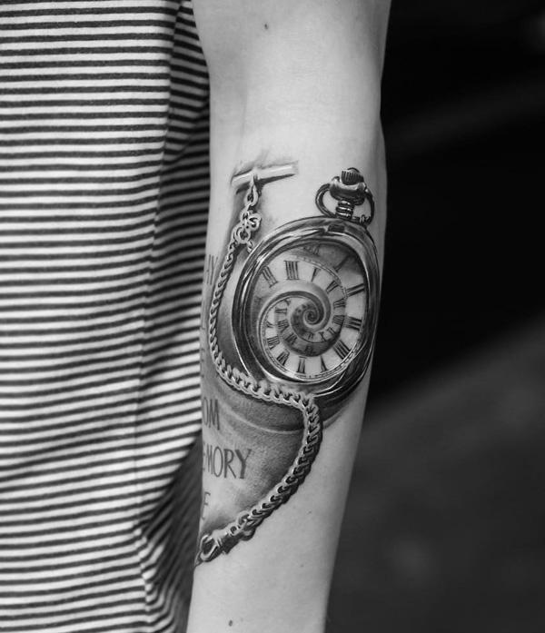 watch sleeve tattoo-18