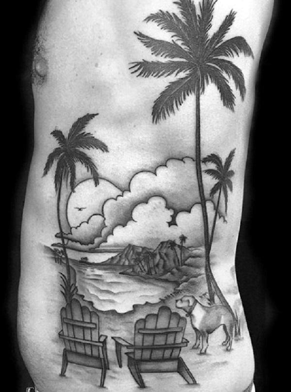 Beach Tattoos 11
