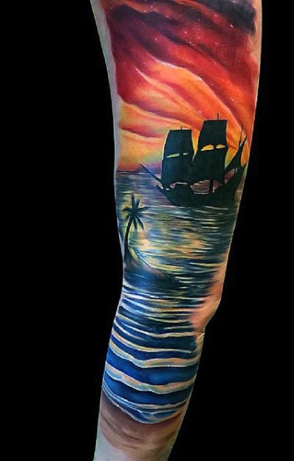 Beach Tattoos 12