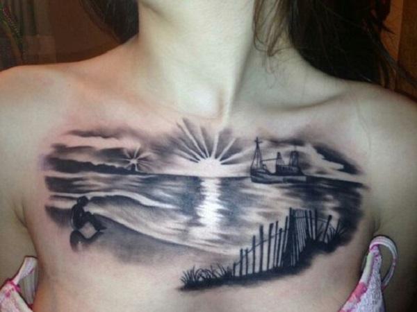 Beach Tattoos 13