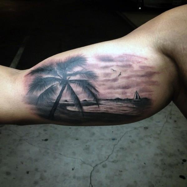 Beach Tattoos 15