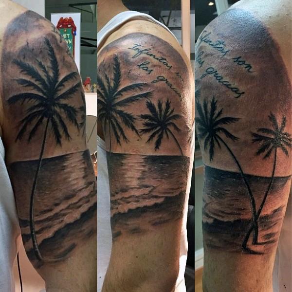 Beach Tattoos 16