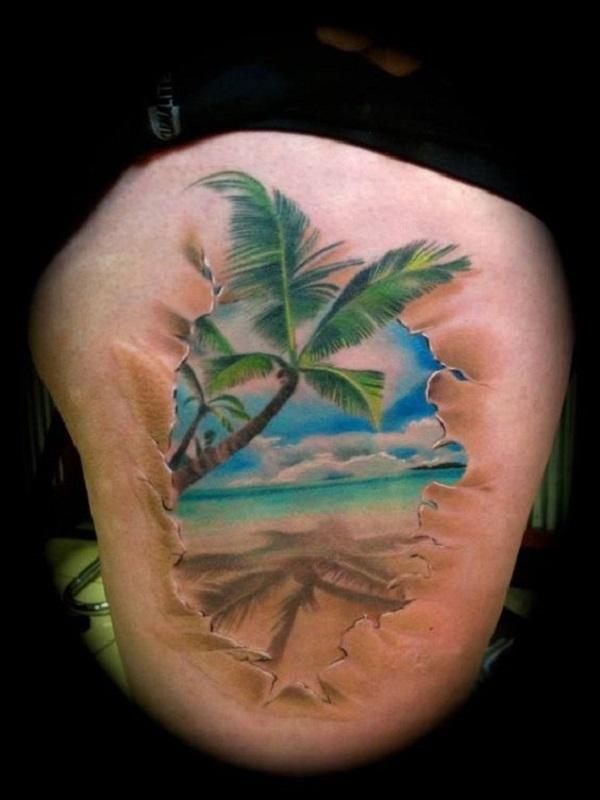 Beach Tattoos 2