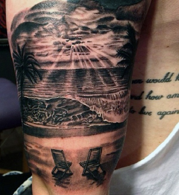 Gallery For gt Beach Waves Tattoo