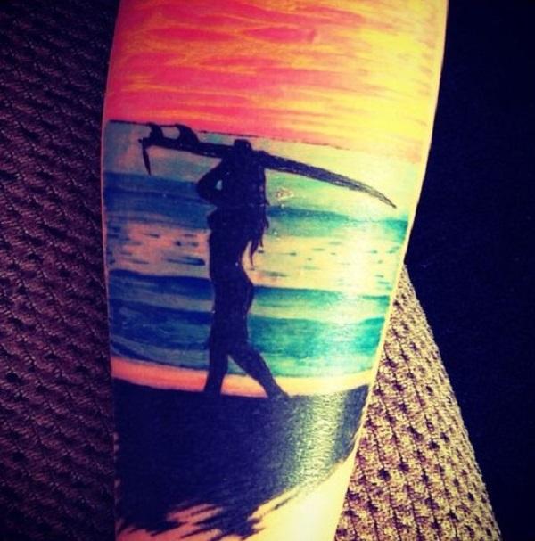 Beach Tattoos 24