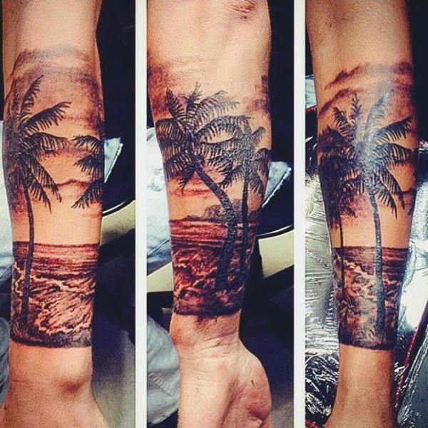 Beach Tattoos 26