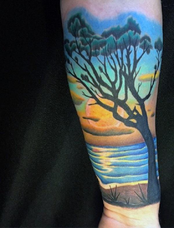 Beach Tattoos 27