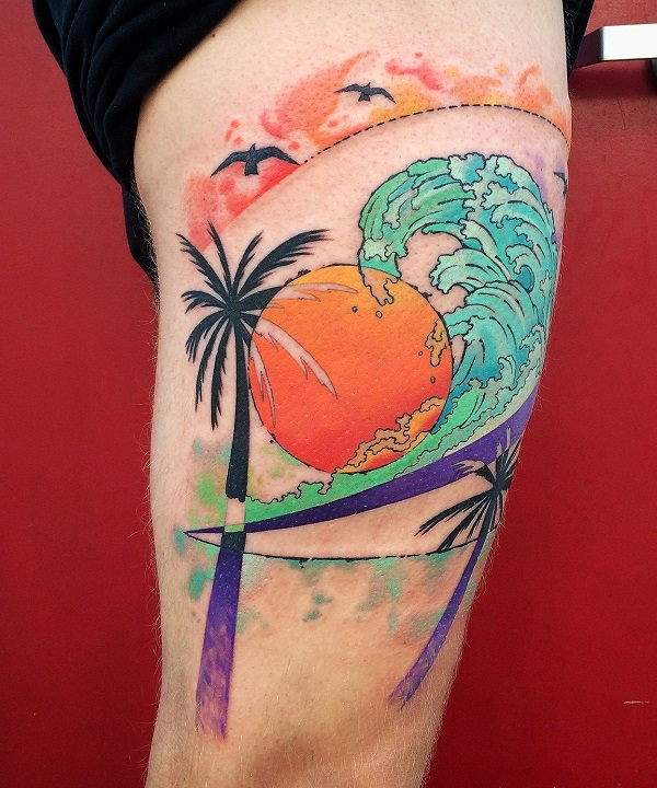 Beach Tattoos 31