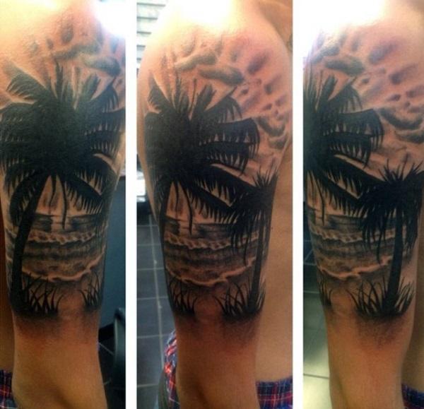 Beach Tattoos 32