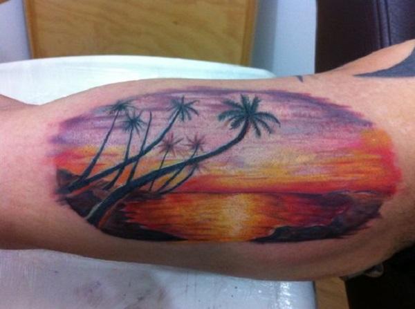 Beach Tattoos 33