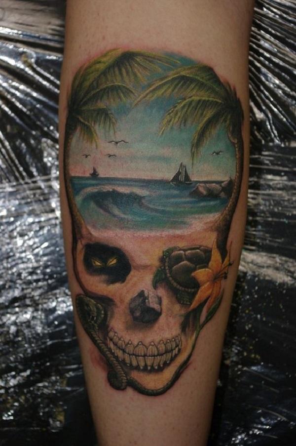 Beach Tattoos 34