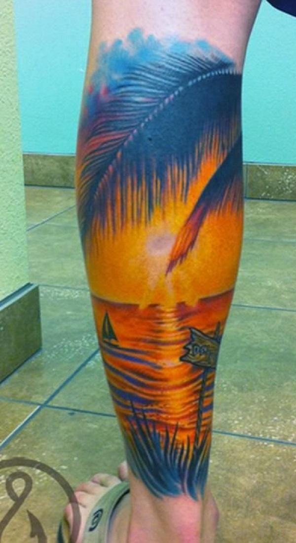 Beach Tattoos 36