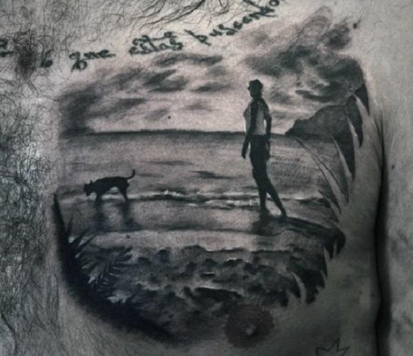 Beach Tattoos 37
