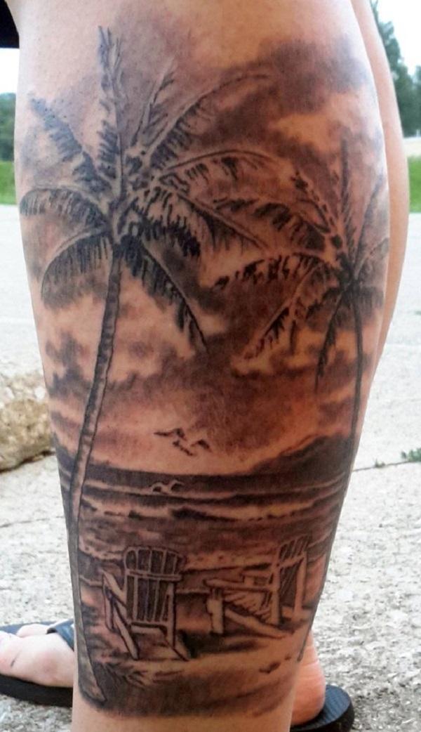 Beach Tattoos 40