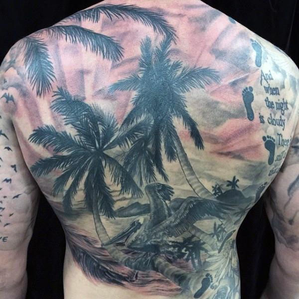Beach Tattoos 41