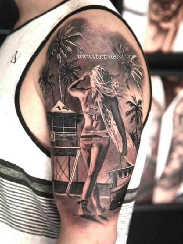 Beach Tattoos 42