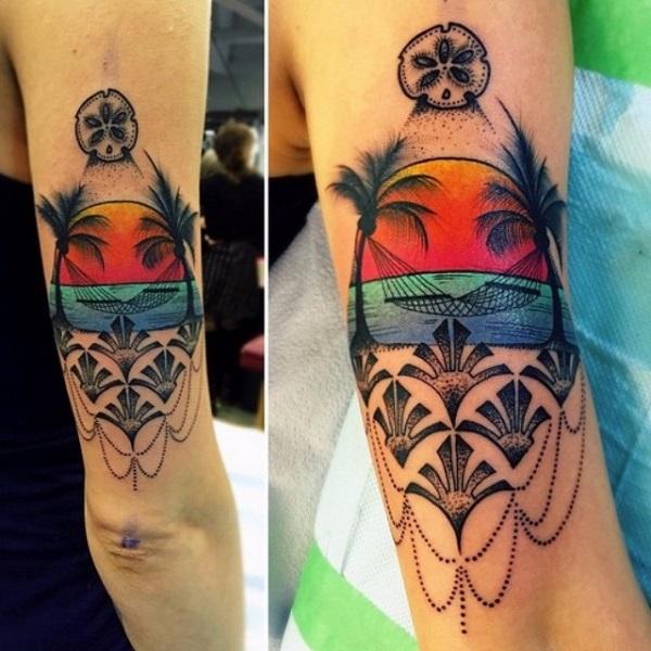 Beach Tattoos 44
