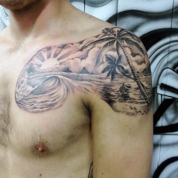 Beach Tattoos 46