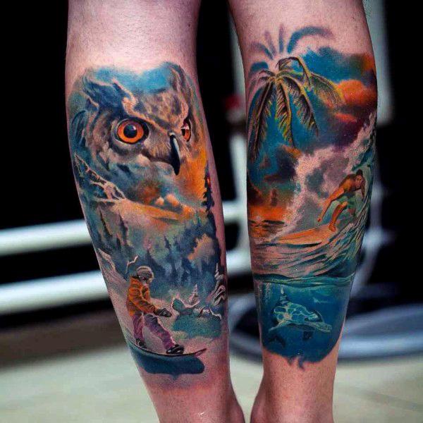 Beach Tattoos 50