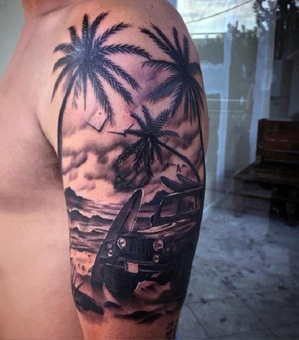 Beach Tattoos 52