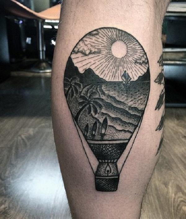 Beach Tattoos 54