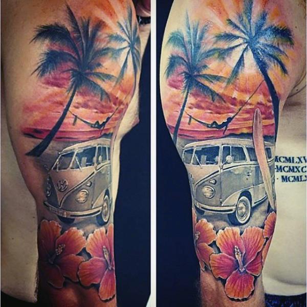 Beach Tattoos 55
